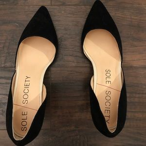Sole Society NWOT D'Orsay heels